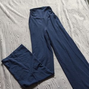 LULULEMON Yoga Straight Stretch Navy Pants 2